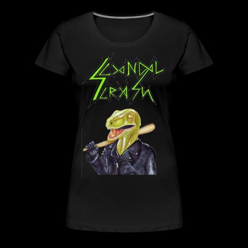 Scandal Crash - T-shirt Premium Femme