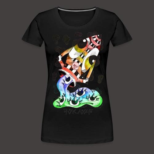 Verseau multi-color - T-shirt Premium Femme