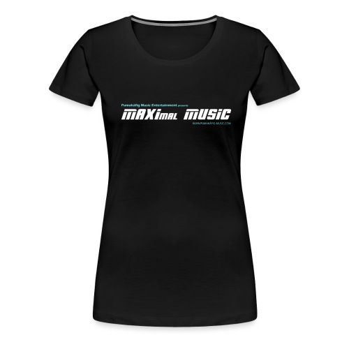 maximal music logo01 - Frauen Premium T-Shirt