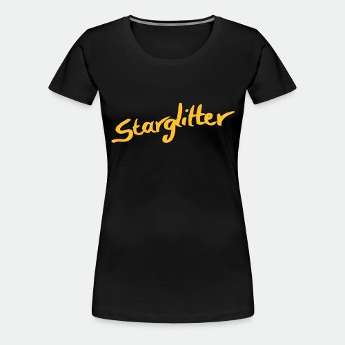 Starglitter - Lettering - Women's Premium T-Shirt