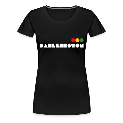 baillieston white - Women's Premium T-Shirt