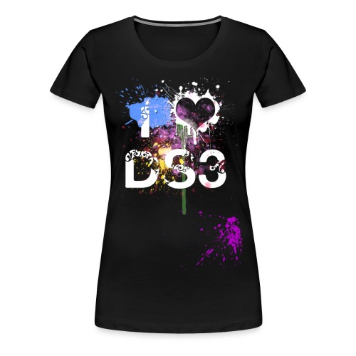 I Love DS3 grand Orlane png - T-shirt Premium Femme