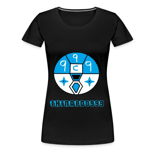 merchandice blue copy - Women's Premium T-Shirt