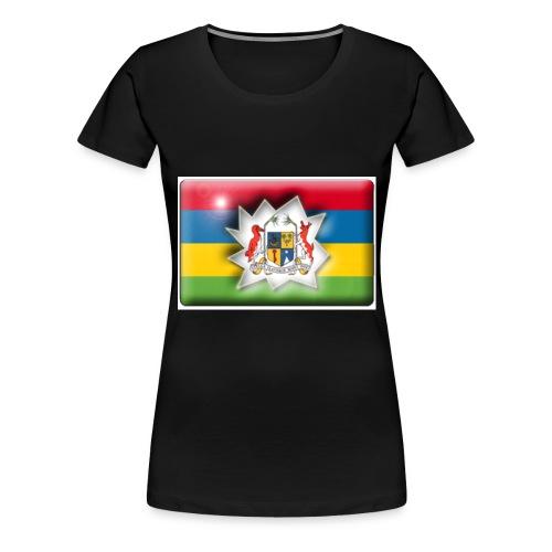 drapeau_maurice - T-shirt Premium Femme