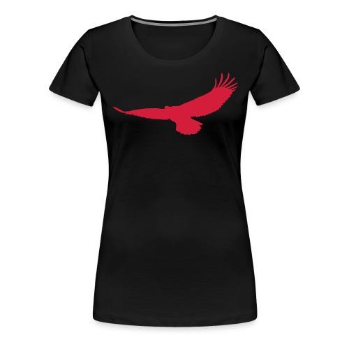 zib adler solid - Frauen Premium T-Shirt