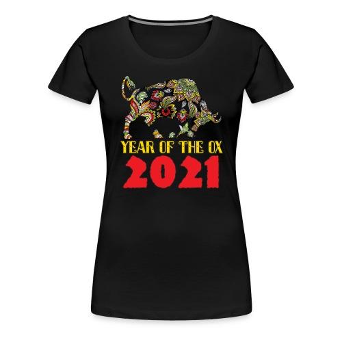 Happy Chinese New Year 2021 - Year Of The Ox - Women's Premium T-Shirt