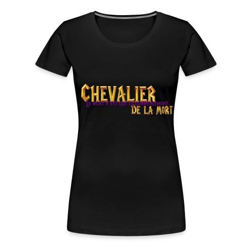 chevalier de la mort commencement - T-shirt Premium Femme