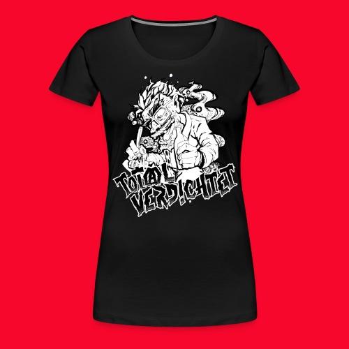 dichter2 png - Frauen Premium T-Shirt