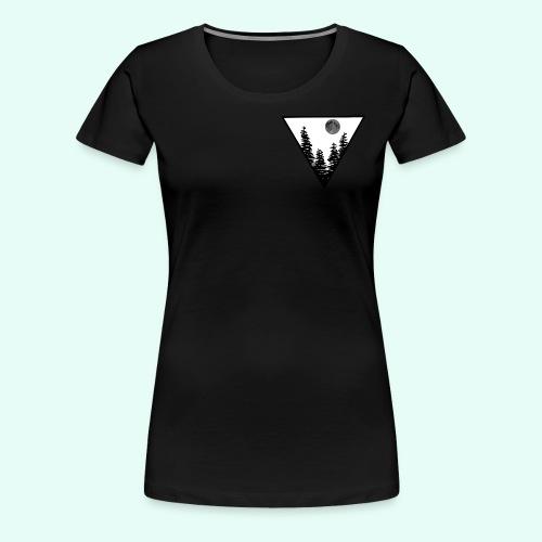Pleine lune - T-shirt Premium Femme