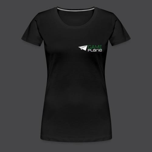 Gameplane Logo groß Relief png - Frauen Premium T-Shirt