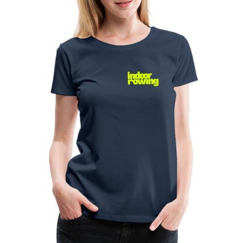 indoor rowing - Women's Premium T-Shirt