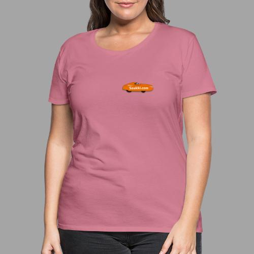 Saukki.com - Naisten premium t-paita