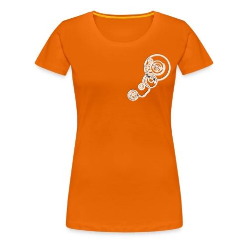 [Men's] Clockwork - WHITE - Women's Premium T-Shirt