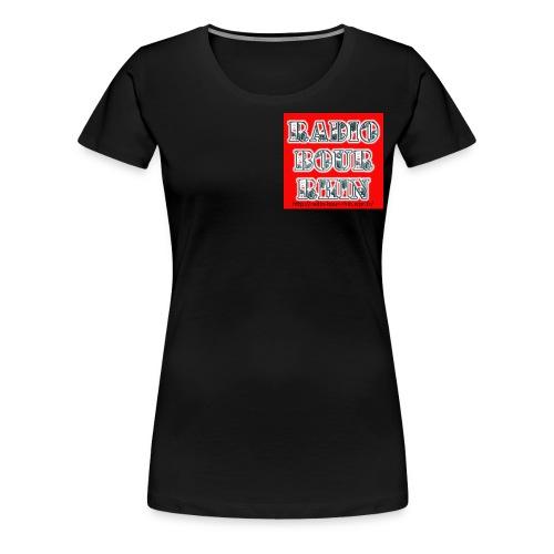 Radio Bour-Rhin BOUTIQUE - T-shirt Premium Femme