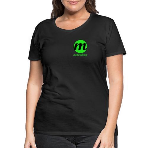 Motivademy Logo Print - Frauen Premium T-Shirt