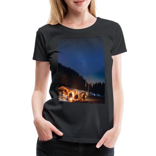 Lagerfeuer Oberthal - Liedmappen Cover - Frauen Premium T-Shirt