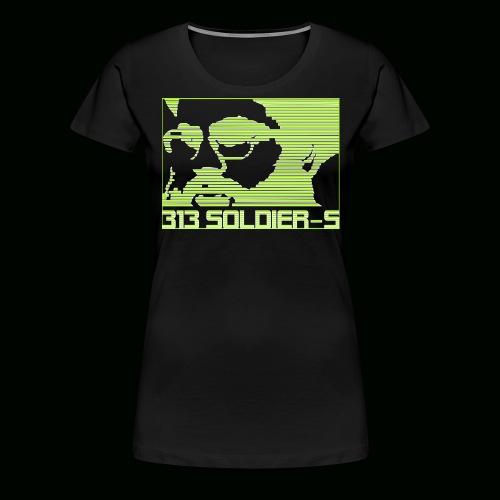 313 SOLDIERS - Frauen Premium T-Shirt