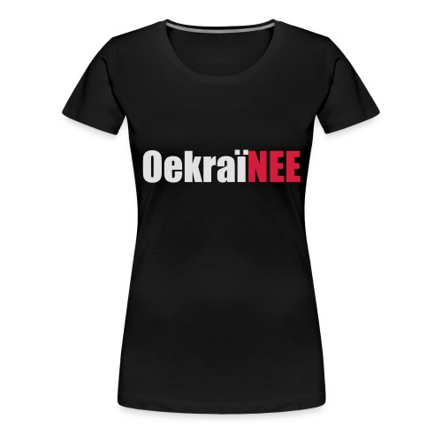Oekraine Hoodie - Vrouwen Premium T-shirt