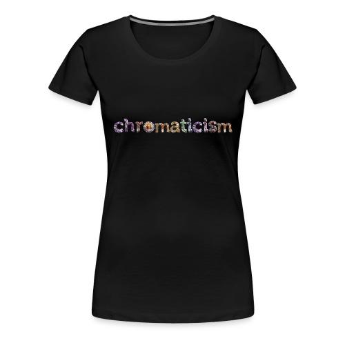 chromaticism logo tee - long (f) - Women's Premium T-Shirt