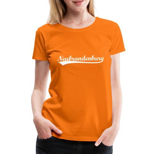 Neubrandenburg Weiß - Frauen Premium T-Shirt