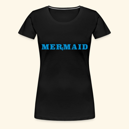 Mermaid logo - Premium-T-shirt dam