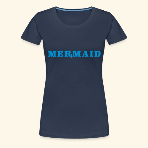 Mermaid logo - Premium-T-shirt dam