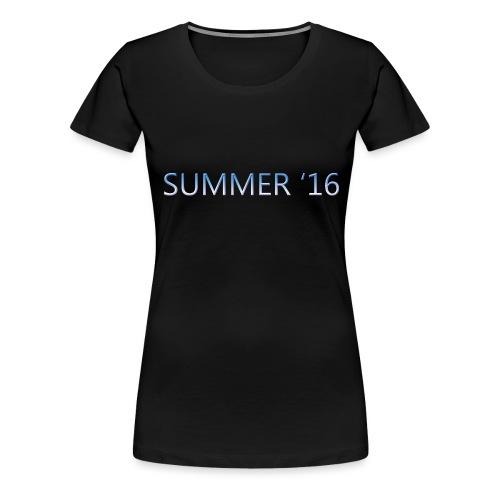 SUMMER 16 t-shirt WOMEN - Women's Premium T-Shirt