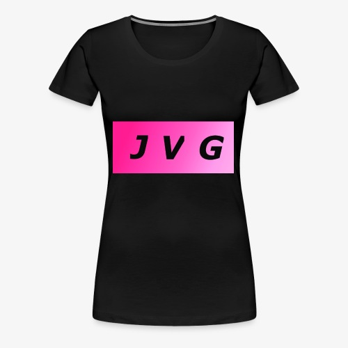 J V G logo - Women's Premium T-Shirt