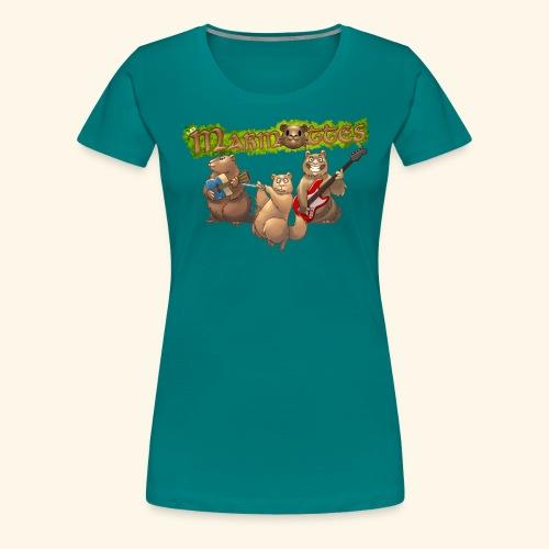 Tshirt groupe - T-shirt Premium Femme