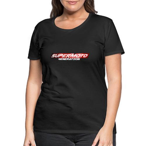 Supermoto Generation Hoodie - Frauen Premium T-Shirt
