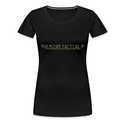 kmizar tactical taupe png - T-shirt Premium Femme