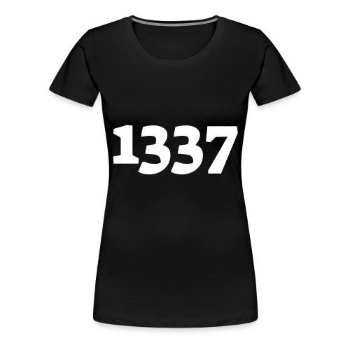 1337 - Dame premium T-shirt
