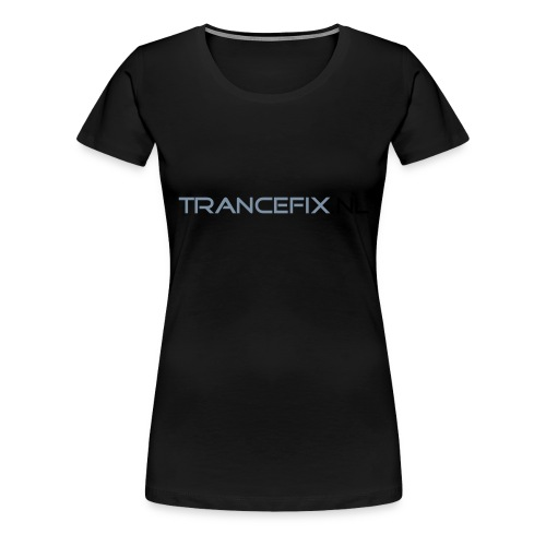 trancefix text - Women's Premium T-Shirt
