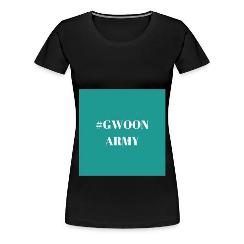 #GwoonArmy - Vrouwen Premium T-shirt