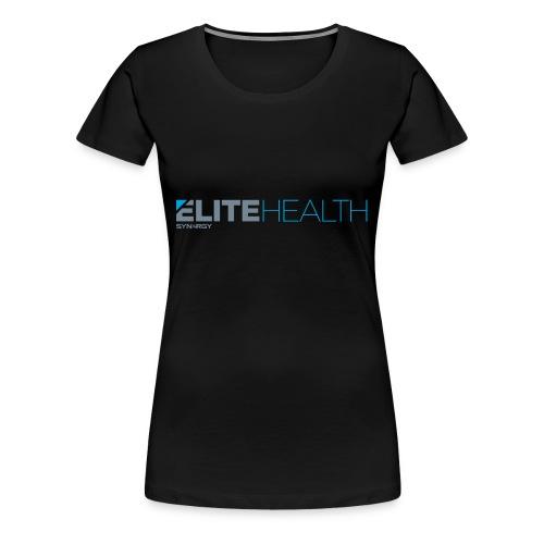 elitehealth logo 1 - Camiseta premium mujer