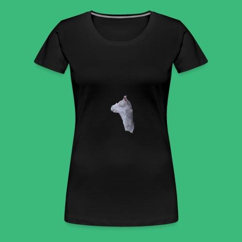 Lama KristalArt / alle kleuren - Vrouwen Premium T-shirt