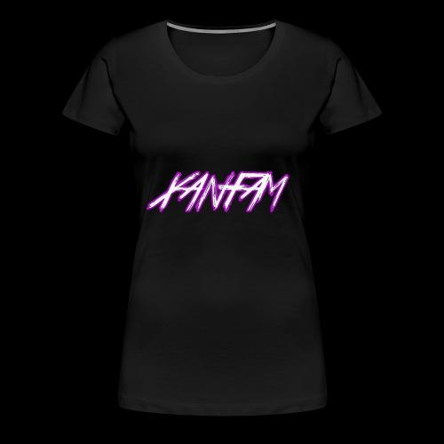 XANFAM (FREE LOGO) - Frauen Premium T-Shirt