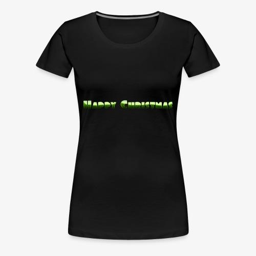 happy christmas - Women's Premium T-Shirt