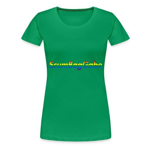 ScumBagGabe Multi Logo XL - Women's Premium T-Shirt