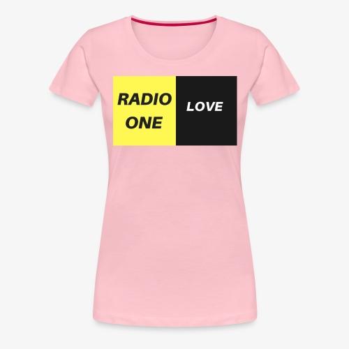 RADIO ONE LOVE - T-shirt Premium Femme