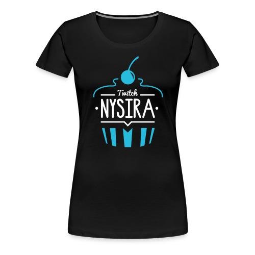 Nysira cupcake 1 - Women's Premium T-Shirt