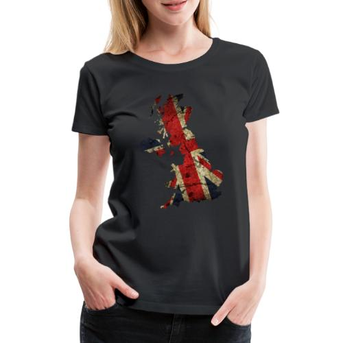 Beste UK Designs online - Frauen Premium T-Shirt