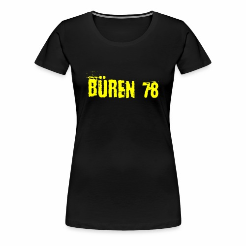 Bueren_78_Fanclub_Shirts - Frauen Premium T-Shirt