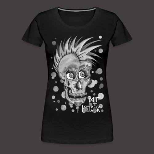 Autoportrait Noir et Blanc - T-shirt Premium Femme
