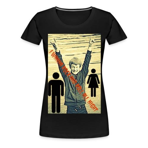 Bilde jpg - Premium T-skjorte for kvinner
