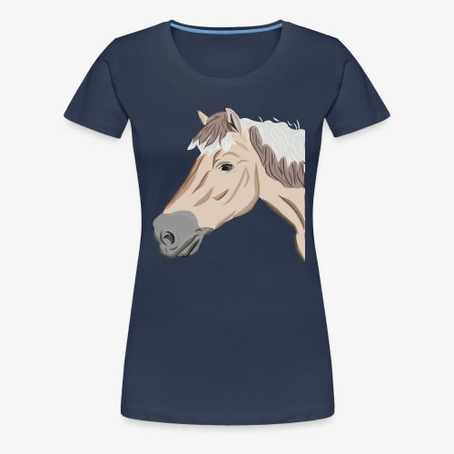 Fjord Pony - Frauen Premium T-Shirt