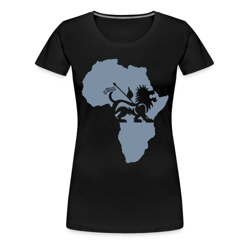 lion_of_judah_africa - Women's Premium T-Shirt