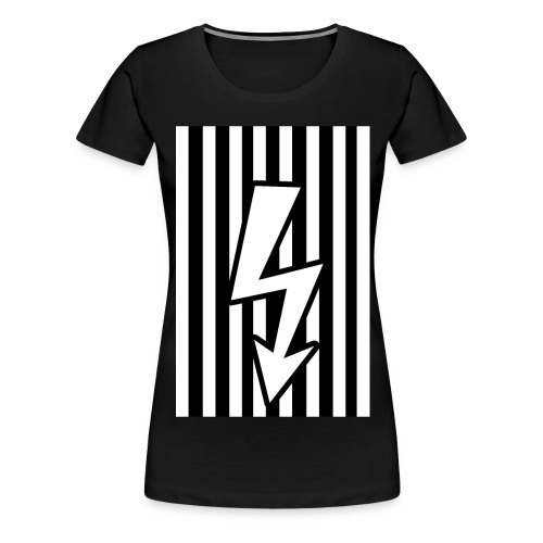 electric baseball png - T-shirt Premium Femme