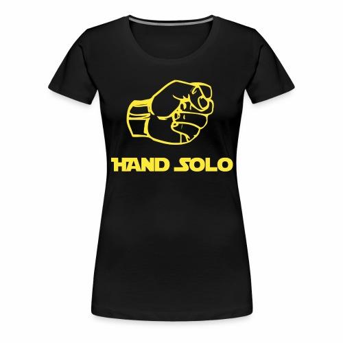 hand solo png - Maglietta Premium da donna