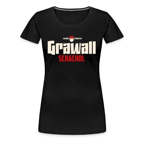 Grawallschadl - Frauen Premium T-Shirt